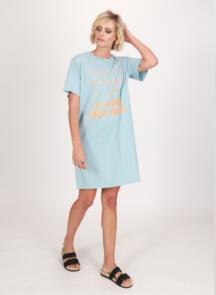 FEDERATION RUSH DRESS - DAISY CHAINS MIST