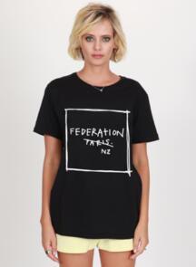 FEDERATION RUSH TEE - NOT PARIS BLACK