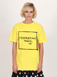 FEDERATION RUSH TEE - NOT PARIS YELLOW
