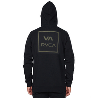RVCA ALL THE WAYS FLEECE BLACK