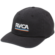 RVCA ATTACKER SNAPBACK BLACK