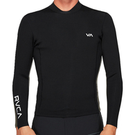 RVCA BACK ZIP 2MM JACKET BLACK