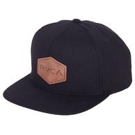 RVCA COMMONWEALTH CAP BLACK
