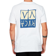RVCA UNPLUGGED SS TEE WHITE