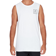 RVCA VA ALL THE WAY MUSCLE WHITE
