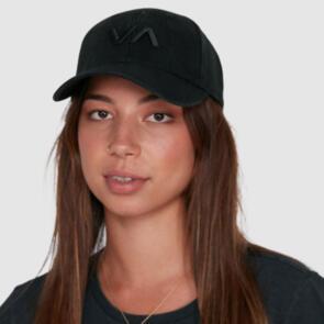 RVCA VA BASEBALL CAP BLACK
