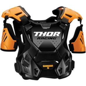 THOR CHEST PROTECTOR MX GUARDIAN S20Y YOUTH ORANGE BLACK