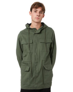 SWELL BRIGADE MENS JACKET WASHED ARMY