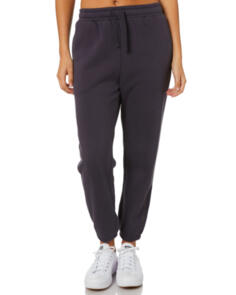 SWELL WOMENS PACIFIC TRACKPANT WASHED BLACK