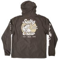 SALTY CREW BAIT AND TACKLE WINDBREAKER JACKETS BLACK