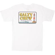 SALTY CREW POINT LOMA TEE S/S WHITE