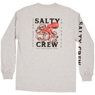 SALTY CREW SQUIDDY L/S TEE ATHLETIC