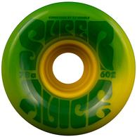 OJ 60MM SUPER JUICE GREEN YELLOW SWIRL 78A