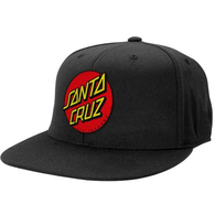 SANTA CRUZ CLASSIC PATCH CAP BLACK