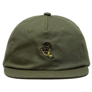 SANTA CRUZ SCREAMING MONO DAD HAT OLIVE