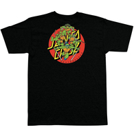 SANTA CRUZ X TMNT TURTLE POWER S/S TEE BLACK
