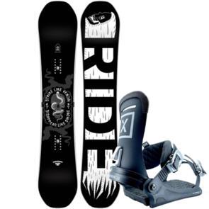 RIDE 2019 MACHETE SNOWBOARD + FIX YALE BINDINGS
