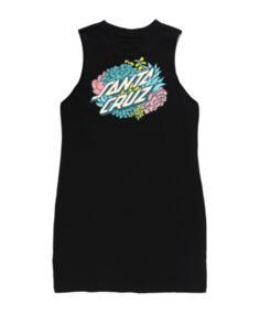 SANTA CRUZ SUCCELENT DOT MUSCLE DRESS BLACK