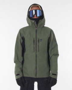 RIP CURL SNOW 2021 BACKCOUNTRY SEARCH SNOW JACKET FOREST GREEN