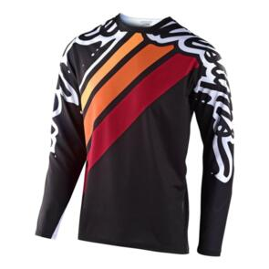 TROY LEE DESIGNS 2020 SPRINT JERSEY SECA 2.0 BLACK / BURGUNDY