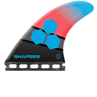 SHAPERS AM2 STEALTH LARGE 3-FIN SINGLE TAB