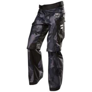 SHIFT RECON LOGO PANTS [BLACK CAMO]