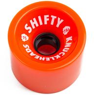 SHIFTY KNUCKLEHEADS ORANGE WHEELS 75MM 80A
