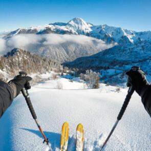 GOPRO SKI PACKAGE CHESTY + POLE MOUNT & MOUNTS