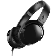 SKULLCANDY RIFF WIRED HEADPHONES BLACK