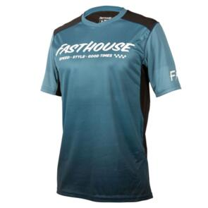 FASTHOUSE 2021 YOUTH ALLOY SLADE SHORT SLEEVE JERSEY BLUE/BLACK