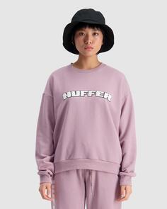 HUFFER WOMENS SLOUCH CREW/HFR CARDINAL NIGHTSHADE