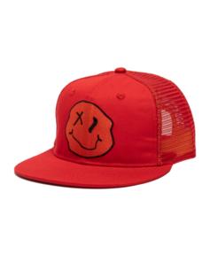 BAND OF BOYS HAPPY MESH TRUCKER CAP RED