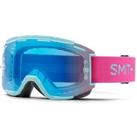 SMITH SQUAD MTB M00841 ICEBERG / PEONY CHROMAPOP EVERYDAY GREEN MIRROR
