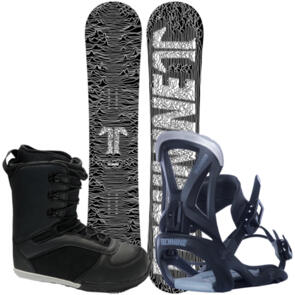 TECHNINE THE ICON + CLASSIC BINDING & HECTIC BOARD CO BOOTS