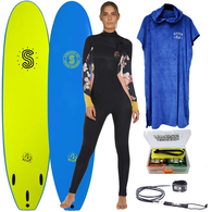 SOFTLITE WOMENS SOFT TOP AND WETTIES PACKAGE