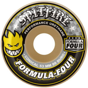 SPITFIRE FORMULA FOUR CONICAL YELLOW 54MM 99A