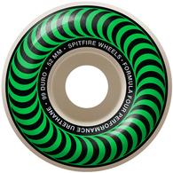 SPITFIRE FORMULA4 CLASSIC GREEN 52MM 99A