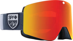 SPY OPTIC MARAUDER 21 - COLORBLOCK GRAY HD PLUS BRONZE WITH RED SPECTRA MIRROR -