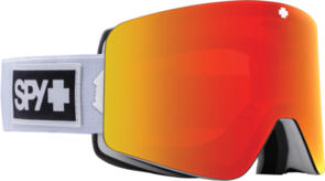SPY OPTIC MARAUDER 21 - MATTE WHITE HD PLUS BRONZE WITH RED SPECTRA MIRROR - HD