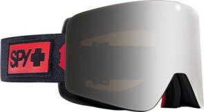 SPY OPTIC MARAUDER 21 - NIGHT RIDER MATTE BLACK HD PLUS BRONZE WITH SILVER