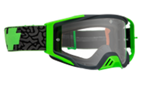SPY OPTIC SPY MX GOGGLE FOUNDATION MAZE GREEN - HD CLEAR