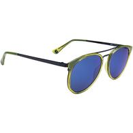 SPY REFRESH TODDY - GREEN APPLE BLACK - GREY W/ LIGHT BLUE FLASH MIRROR