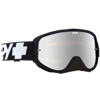 SPY WOOT RACE BLACK ENDURO - CLEAR DUAL LENS + CLEAR AFP