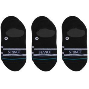 STANCE BASIC 3 PACK NO SHOW BLACK