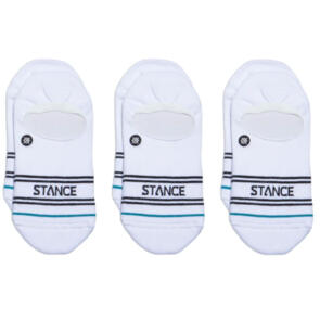 STANCE BASIC 3 PACK NO SHOW WHITE