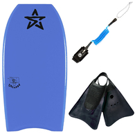 STEALTH GRENADE LIGHT BLUE 38 WITH LEASH AND FINS COMBOS