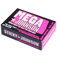 STICKY JOHNSON MEGA WARM TROPICAL TOP COAT WAX PINK
