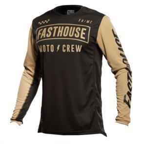 FASTHOUSE GRINDHOUSE STRIKE JERSEY BLACK/KHAKI