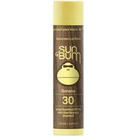 SUN BUM SPF 15 BANANA LIP BALM 4.25G