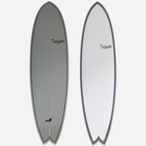 "HECTIC BOARD CO SEAGULL 6'10"" X 21.8"" X 2.6""(45.97 L) EPS GREY"